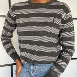 Ralph Lauren Stripe Crewneck knit sweater